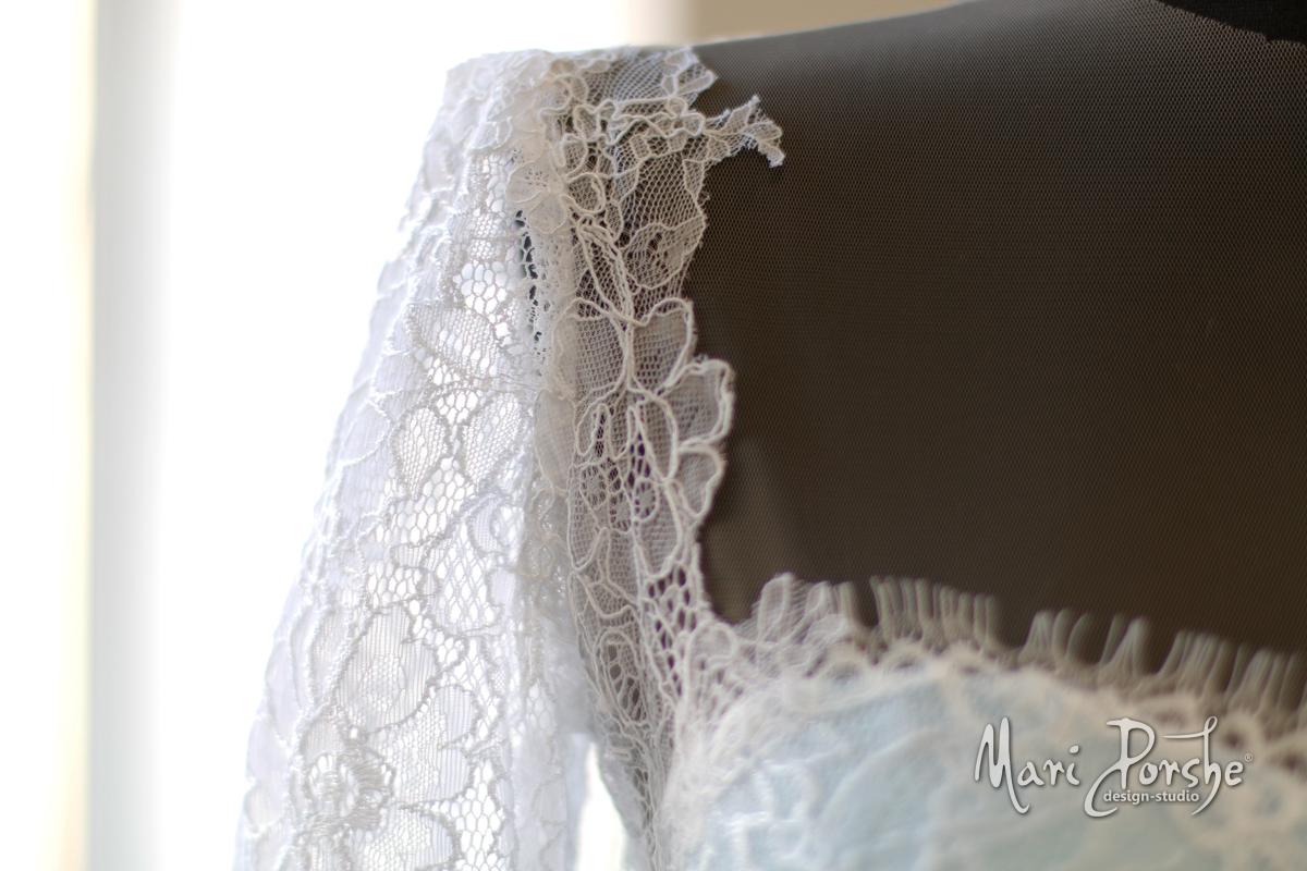 """Свадебное платье """"Ангелина"""" рукавчик"""