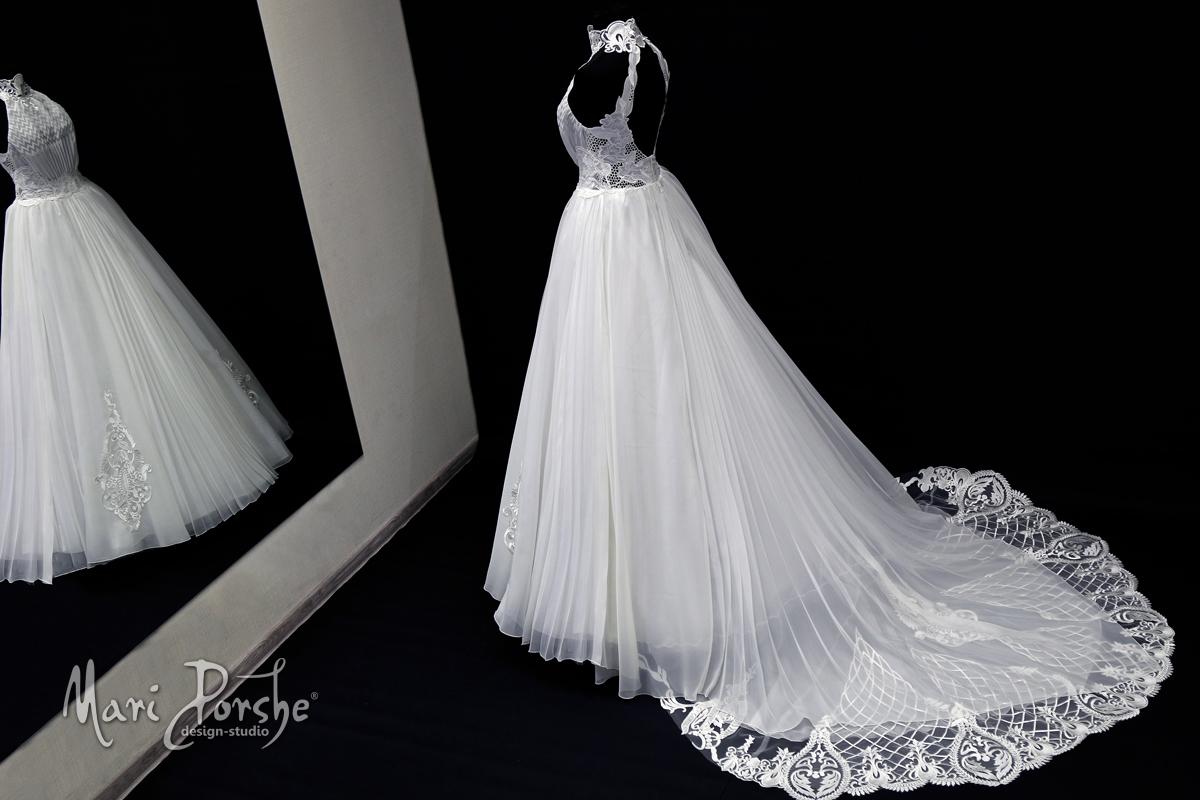 """Свадебное платье """"Плиссе"""" общий вид"""