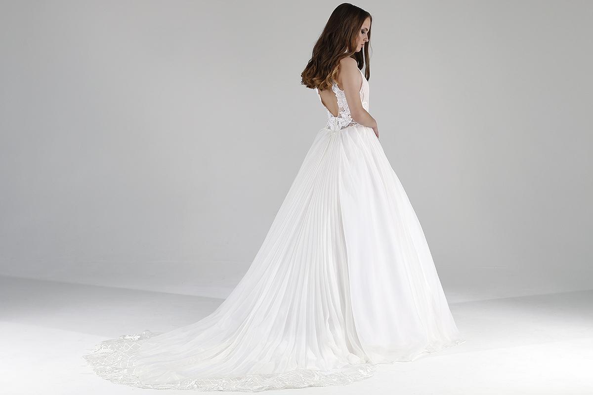 """Свадебное платье """"Плиссе"""""""