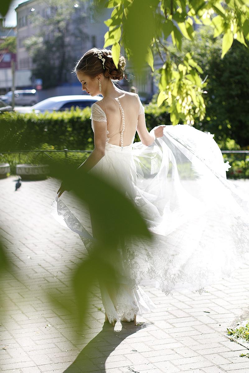 """Свадебное платье """"Лия"""" со шлейфом"""